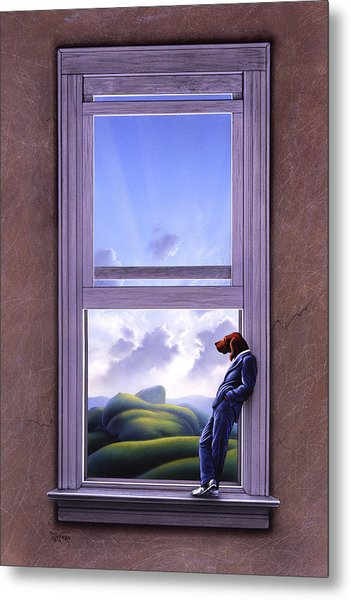 Window Of Dreams Metal Print