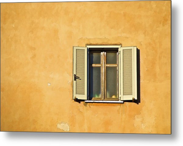 Window Of Rome Metal Print