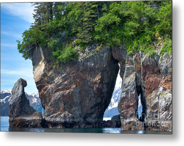 Window Rock Metal Print