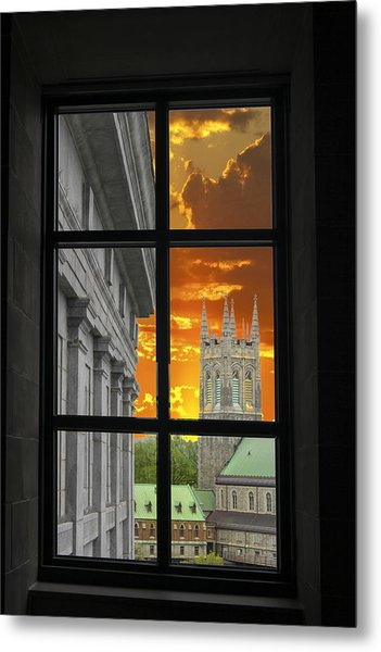 Window Series 03 Metal Print