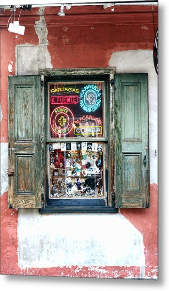 Window Shop Metal Print by Kenneth Feliciano