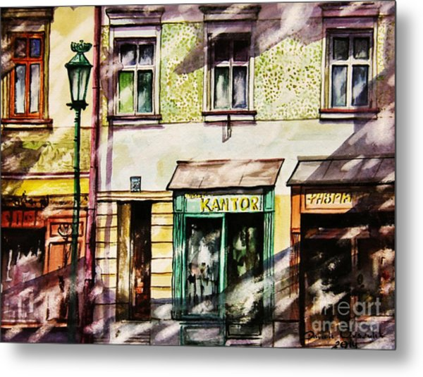 Window Shopping Metal Print