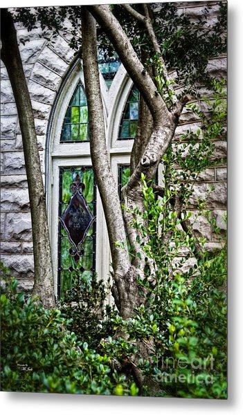 Window To Heaven Metal Print