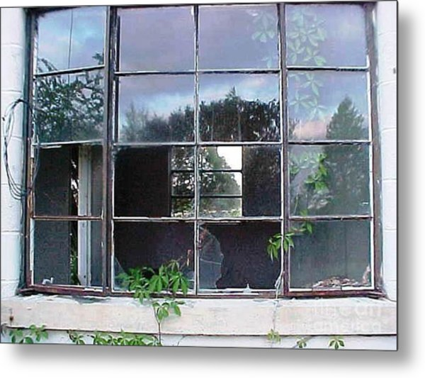 Window To Other Dimensions  Metal Print by Robert Stagemyer