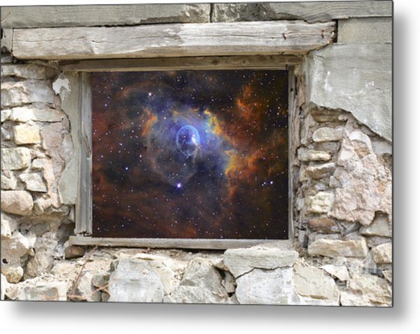 Window To Space Metal Print