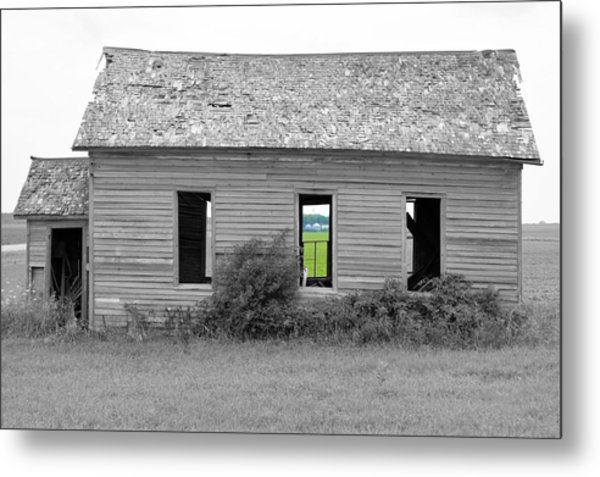 Window To The Future Metal Print