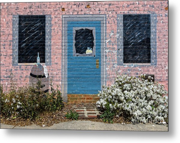 Window With No View Metal Print
