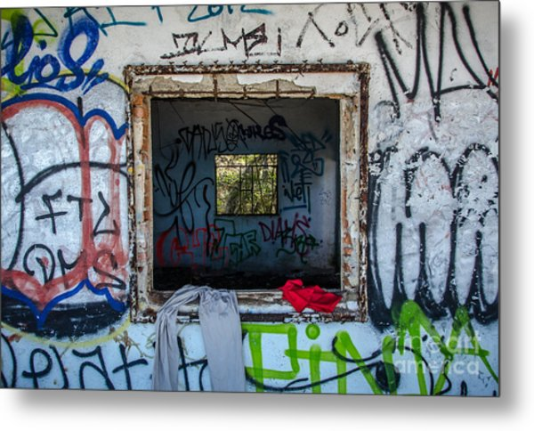 Window Within  Metal Print by Amy Fearn