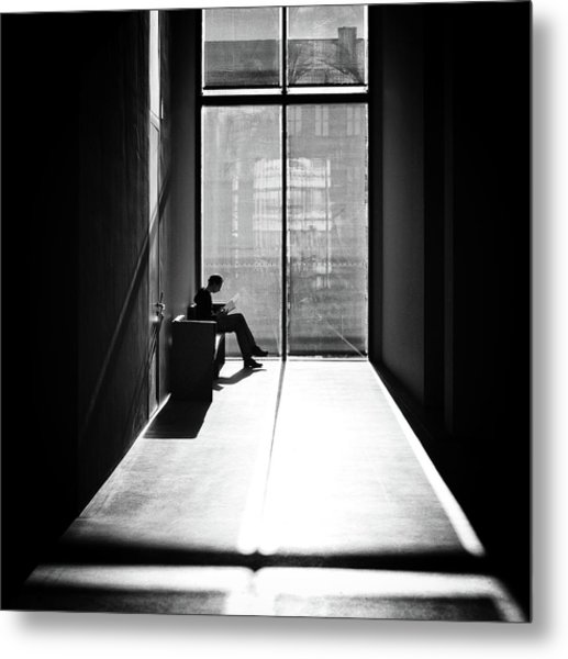 Windowlight Metal Print by Michael M.