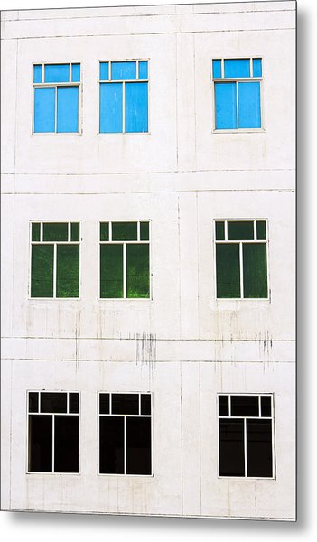 Windows 9 Metal Print