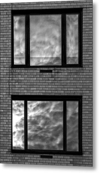 Windows And Clouds Metal Print by Robert Ullmann