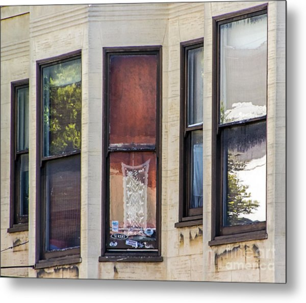 Metal Print featuring the photograph Windows by Kate Brown