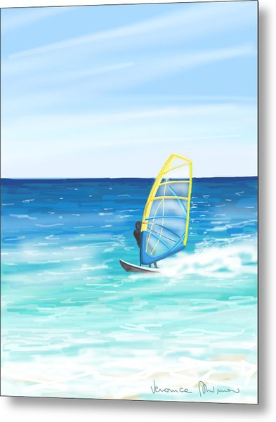 Windsurf Metal Print
