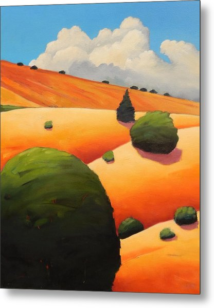 Windy Hill Revisit Panel Two Metal Print