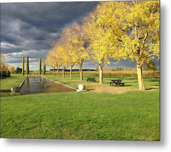 Winery Metal Print by Ron Torborg