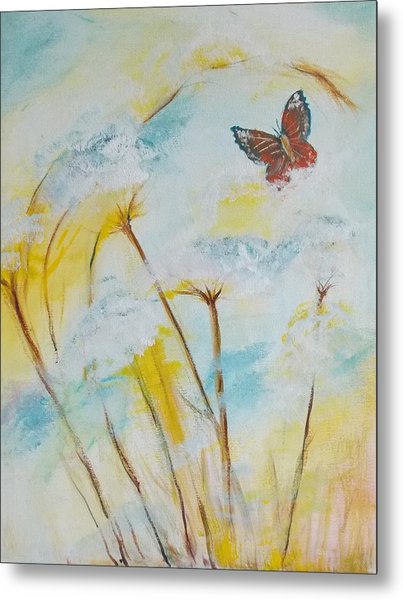 Winged Flight Metal Print