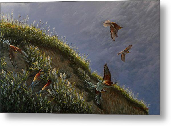 Wings Of Sumer Metal Print