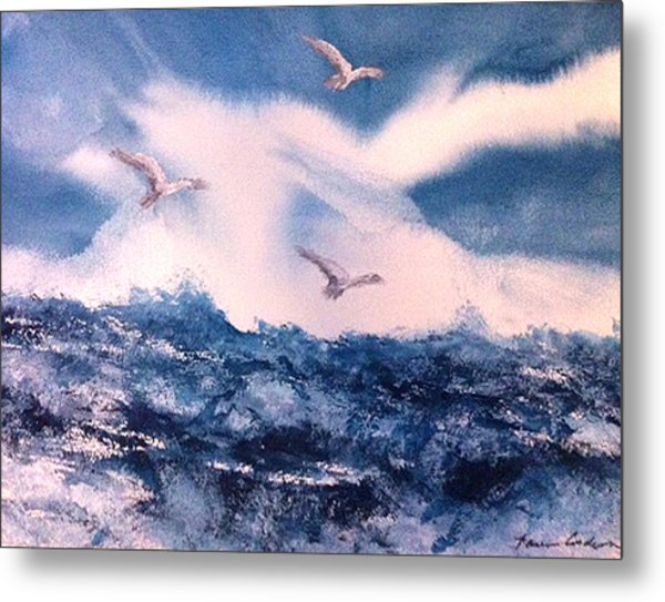 Wings Of The Wind Metal Print by Karen  Condron
