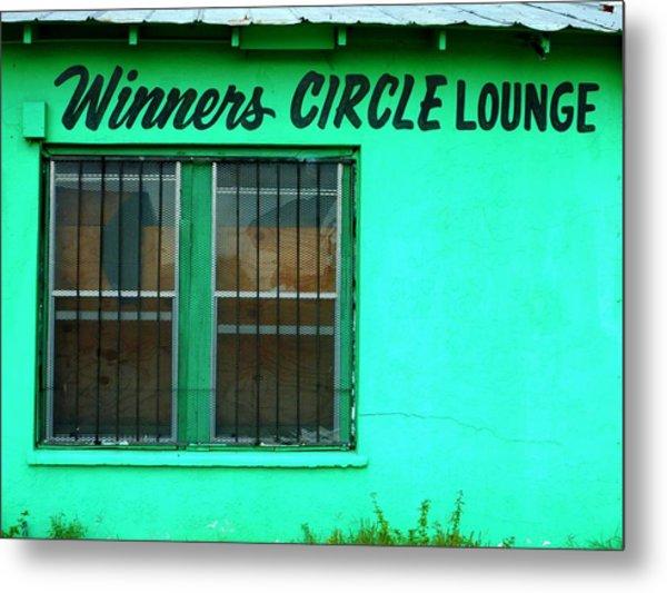 Winner's Circle Lounge Metal Print