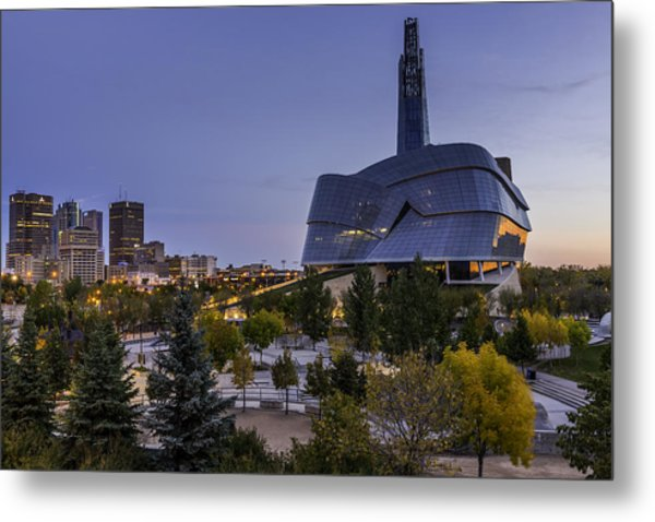 Winnipeg Dawn Metal Print