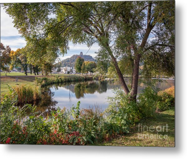 Metal Print featuring the photograph Winona Gift - Fall Wonderland by Kari Yearous