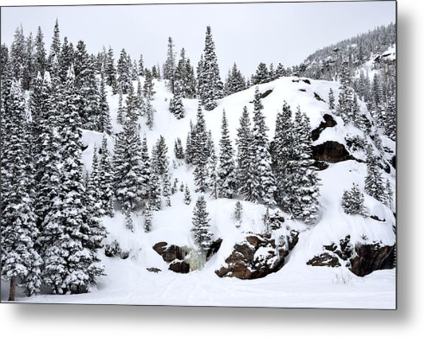 Winter At Bear Lake Metal Print
