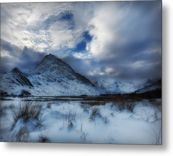 Winter At Tryfan Metal Print