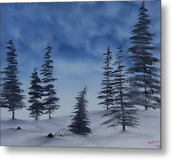 Winter Chill Metal Print