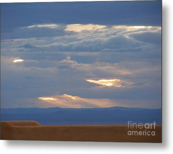 Winter Clouds Metal Print