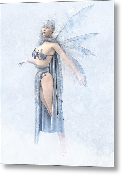 Winter Fairy Metal Print