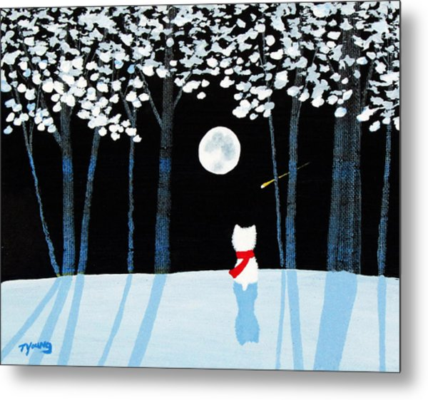 Winter Forest Metal Print by Todd Young