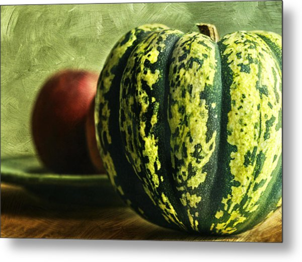 Winter Harvest Metal Print