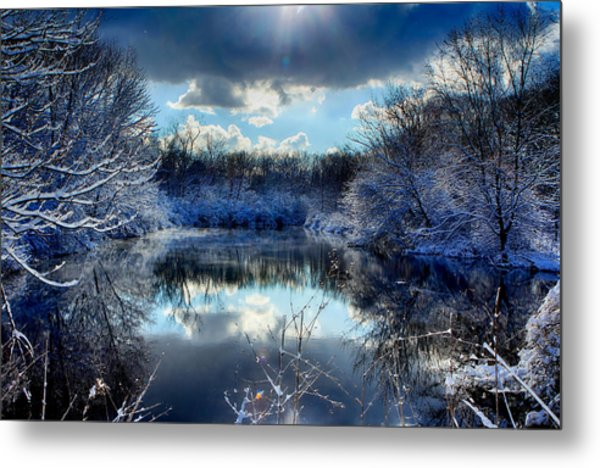 Winter In April 2014 Metal Print