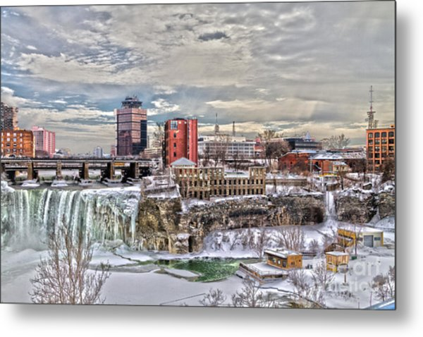 Winter In Rochester Metal Print
