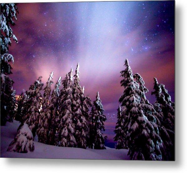 Winter Nights Metal Print