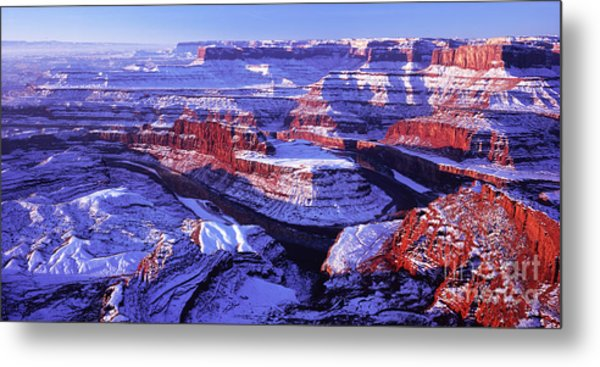 Winter Of Dead Horse Point Metal Print