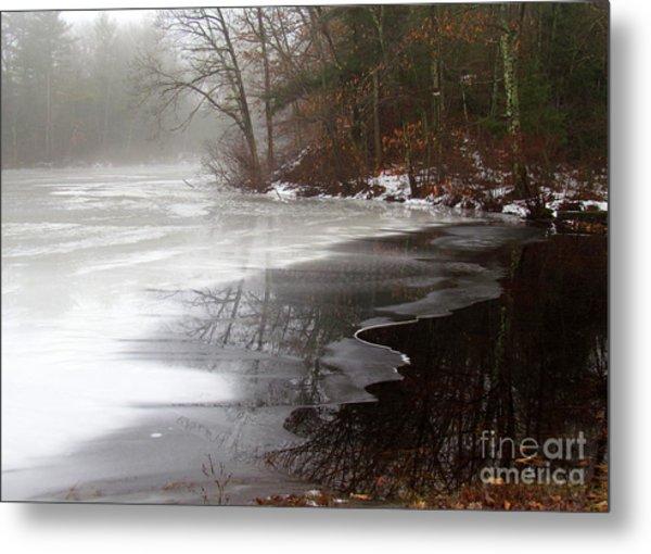 Winter On Tarklin Pond Metal Print