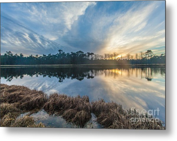 Winter Reflection-1 Metal Print