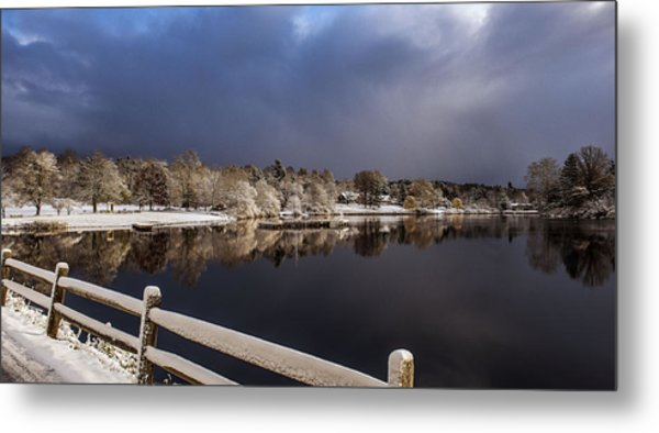 Winter Returns Metal Print