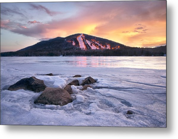 Winter Sky Metal Print