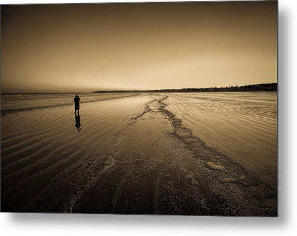 Winter Solitude At York Metal Print