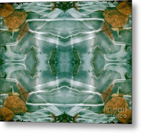 Winter Symmetry Metal Print