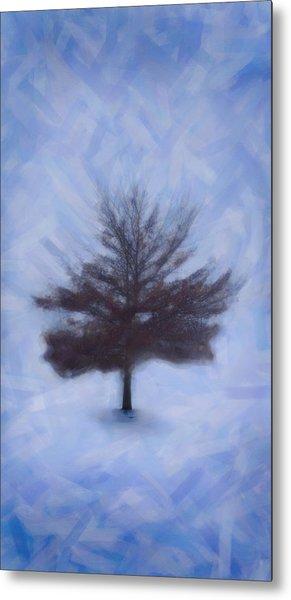 Winter Tree Metal Print by Emmanouil Klimis