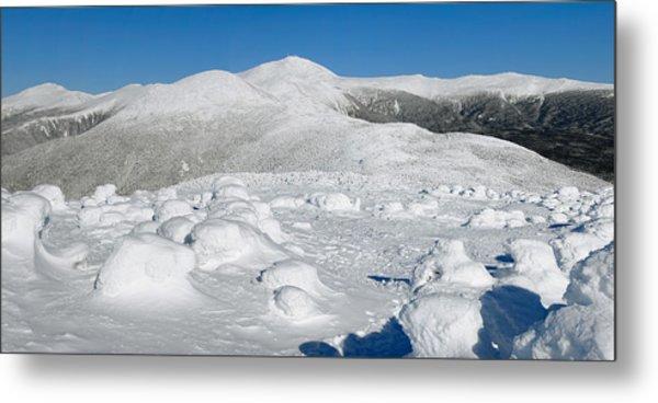 Winter View From Mount Pierce Metal Print