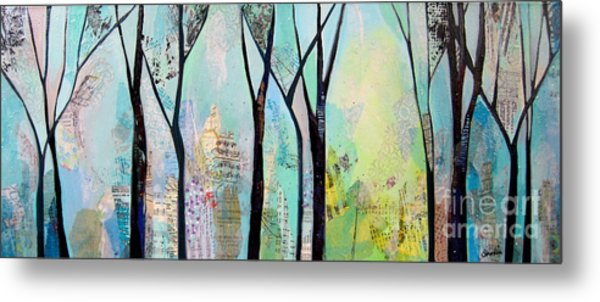 Winter Wanderings II Metal Print