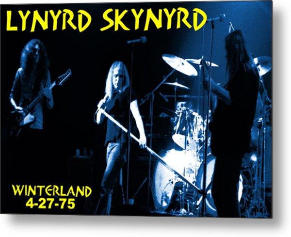 Winterland 4-27-75 Metal Print