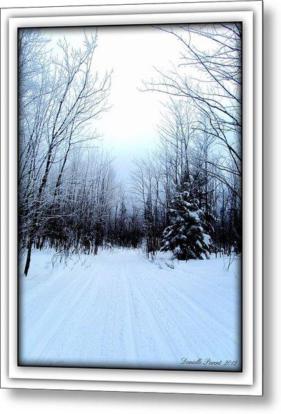 Winterlude In Abitibi Temiscamingue Quebec  Metal Print