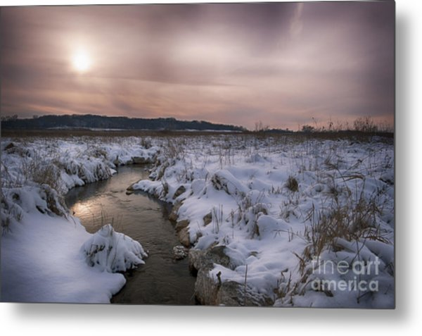 Winter's Blanket... Metal Print