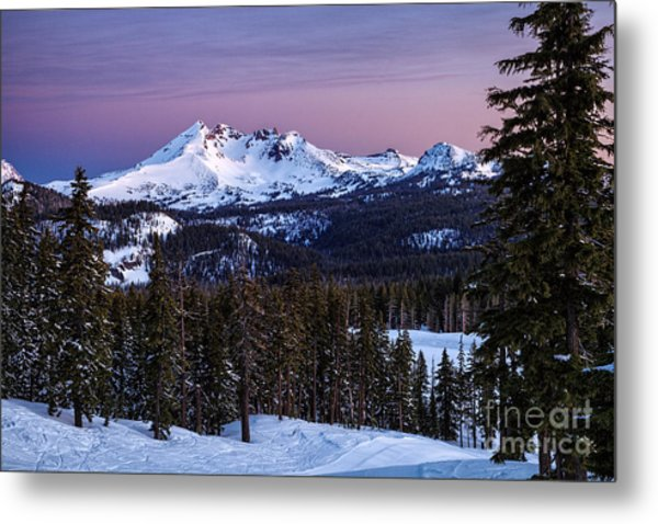 Winter's Dawn Metal Print