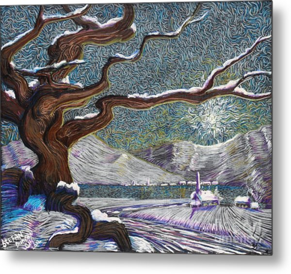 Winter's Day Metal Print